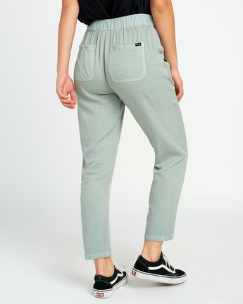 4 Chill Vibes Elastic Pant Green W301PRCV RVCA