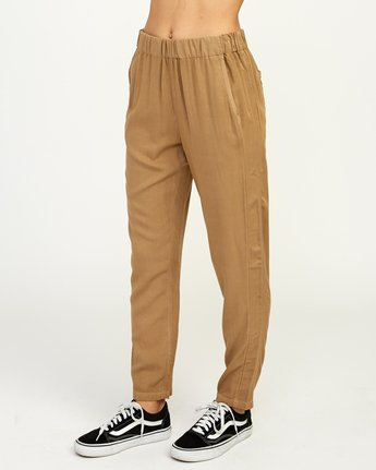 2 Chill Vibes Elastic Pant Beige W301PRCV RVCA