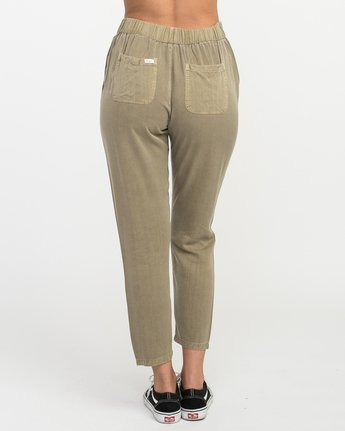 4 Chill Vibes Elastic Pant Beige W301PRCV RVCA