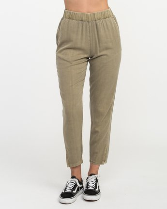 1 Chill Vibes Elastic Pant Beige W301PRCV RVCA
