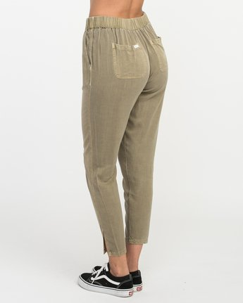 3 Chill Vibes Elastic Pant Beige W301PRCV RVCA