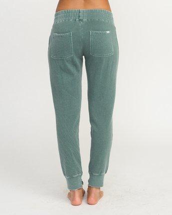3 Faint Fleece Sweat Pant Green W301QRFA RVCA