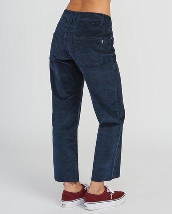 5 RVCA Tripod Wide Leg Pant Grey W301QRTR RVCA