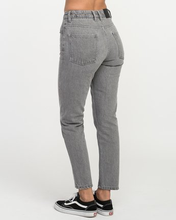 3 Piper High Rise Tapered Denim  W302QRPI RVCA