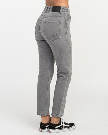 5 Piper High Rise Tapered Denim  W302QRPI RVCA