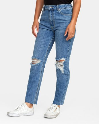 2 Piper High Rise Tapered Denim  W302VRPI RVCA