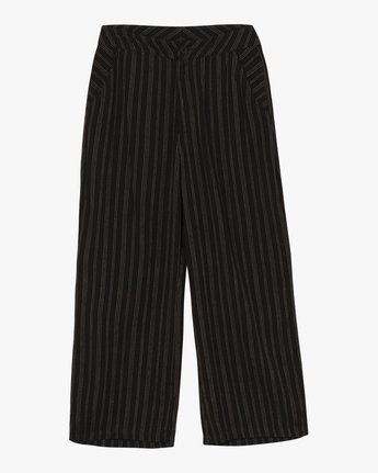 7 Power High Rise Twill Pants Black W303SRPO RVCA