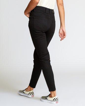 2 Solar High Rise Jeans Black W303VRSO RVCA