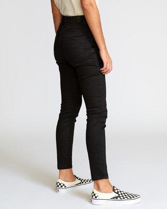 4 Solar High Rise Jeans Grey W303VRSO RVCA