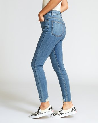 1 Solar High Rise Jeans Blue W303VRSO RVCA