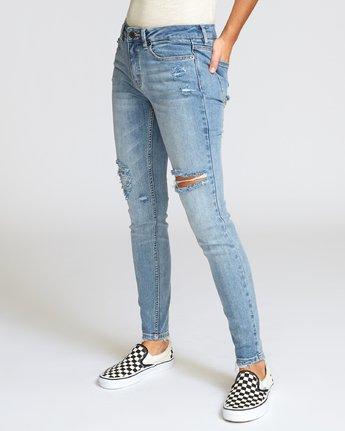 1 Dayley Skinny Jeans Grey W304VRDA RVCA