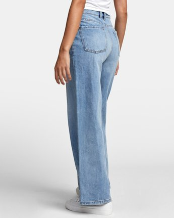 6 COCO HIGH RISE RELAXED DENIM Blue W3063RCO RVCA