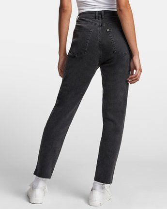 3 TAMMY HIGH RISE DENIM Black W3073RTA RVCA