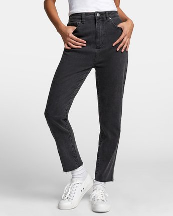 1 TAMMY HIGH RISE DENIM Black W3073RTA RVCA