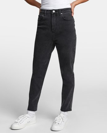 4 TAMMY HIGH RISE DENIM Black W3073RTA RVCA