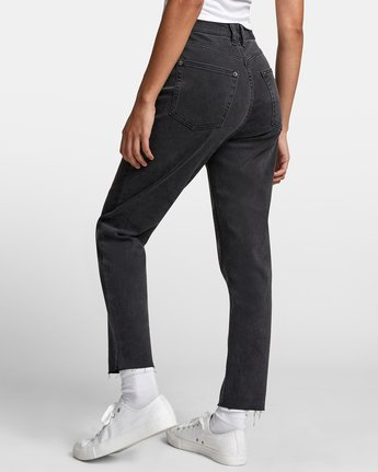5 TAMMY HIGH RISE DENIM Black W3073RTA RVCA