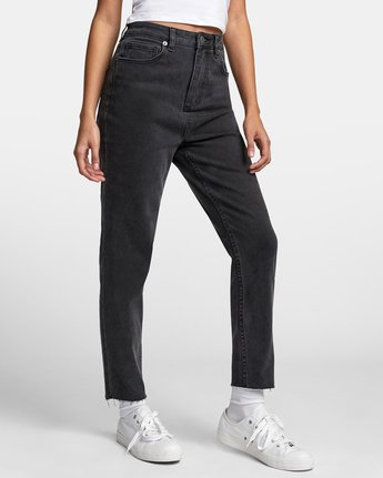 7 TAMMY HIGH RISE DENIM Black W3073RTA RVCA