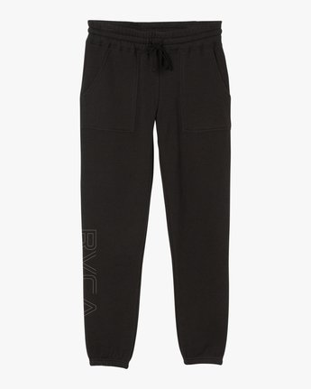 7 Pinner Fleece sweatpant Black W322SRPI RVCA