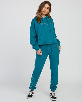6 Pinner Fleece Sweat Pant Multicolor W322SRPI RVCA