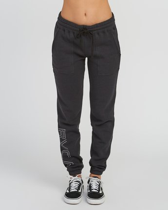 1 Pinner Fleece sweatpant Black W322SRPI RVCA