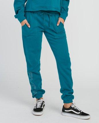 0 Pinner Fleece Sweat Pant Multicolor W322SRPI RVCA