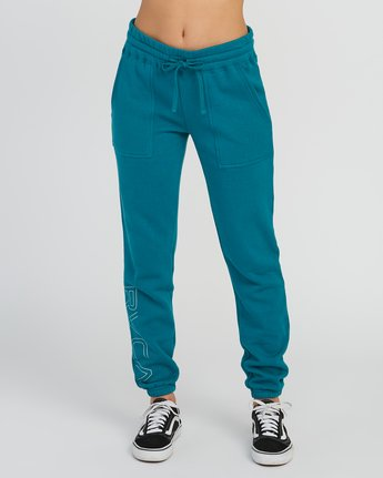 1 Pinner Fleece Sweat Pant Multicolor W322SRPI RVCA