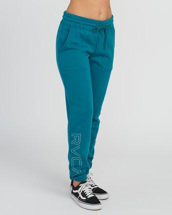 5 Pinner Fleece Sweat Pant Multicolor W322SRPI RVCA