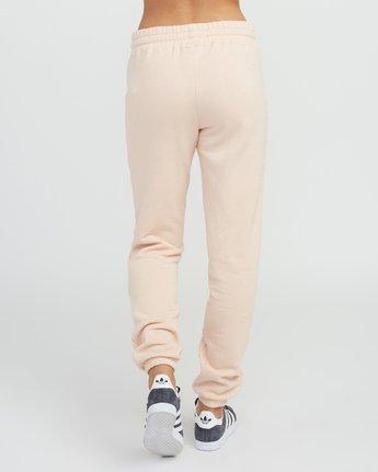 3 Pinner Fleece Sweat Pant Pink W322SRPI RVCA
