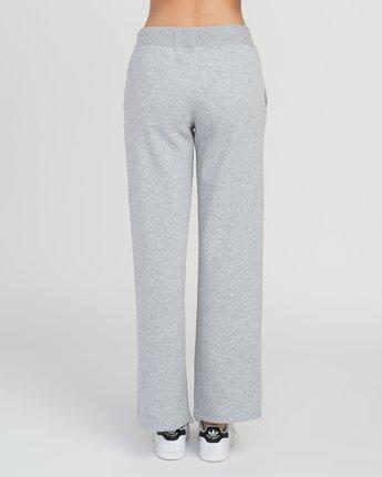 2 Stakeit Wide Leg Fleece Pant Grey W352SRST RVCA