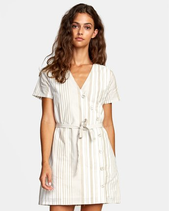 Touch - Short Sleeve Mini Dress for Women  W3DRICRVP1