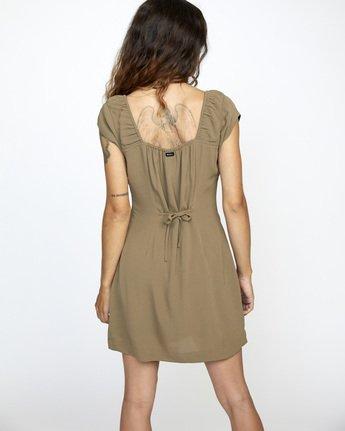 Interruption - Cap Sleeve Dress for Women  W3DRRHRVP1