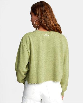 Kingston - Cropped Sweatshirt for Women  W3FLRBRVP1