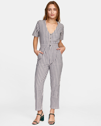 Range - Short Sleeve Jumpsuit for Women  W3ONRDRVP1