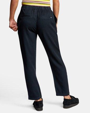 Blank Stare - High Waist Viscose Trousers for Women  W3PTRBRVP1