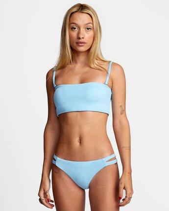 1 Solid - Full Bikini Bottoms for Women Blue W3SBRCRVP1 RVCA
