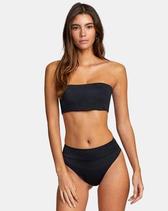 1 Solid High Rise - Mini Bikini Bottoms for Women Black W3SBRFRVP1 RVCA