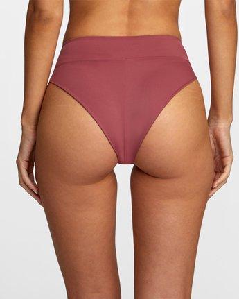 4 Solid High Rise - Mini Bikini Bottoms for Women Purple W3SBRFRVP1 RVCA