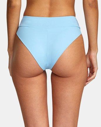 4 Solid High Rise - Mini Bikini Bottoms for Women Blue W3SBRFRVP1 RVCA