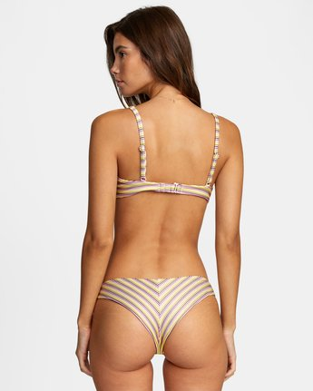 Stripe Out Cheeky - Mini Bikini Bottoms for Women  W3SBRLRVP1