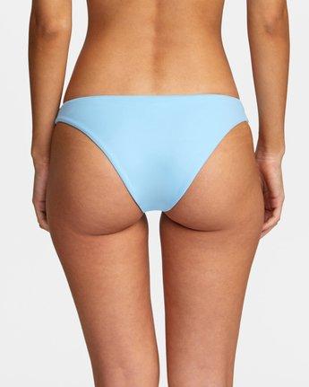 4 Solid Medium - Medium Bikini Bottoms for Women Blue W3SBRORVP1 RVCA