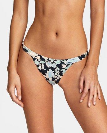2 Spring Bound Cheeky - Mini Bikini Bottoms for Women Black W3SBSBRVP1 RVCA