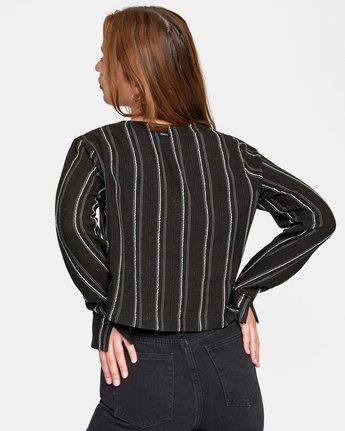 Hosta - Cropped Long Sleeve Shirt for Women  W3SHRBRVP1