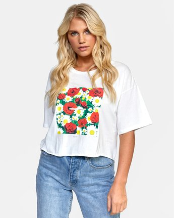 Super Bloom - Cropped T-Shirt for Women  W3SSIDRVP1