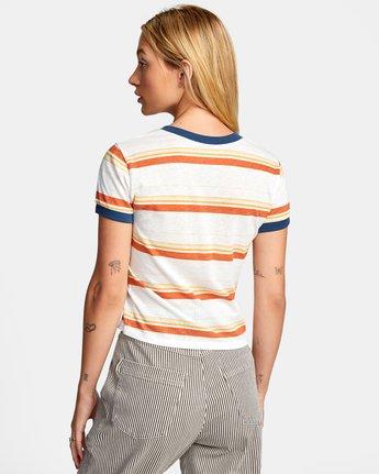 Big Distance Stripe - T-Shirt for Women  W3SSRCRVP1