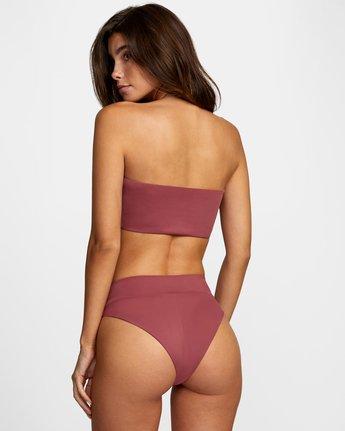 Solid Bandeau - Bikini Top for Women  W3STRMRVP1