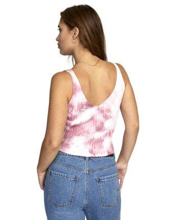 Captured - Rib Knit Vest Top for Women  W3TPRLRVP1