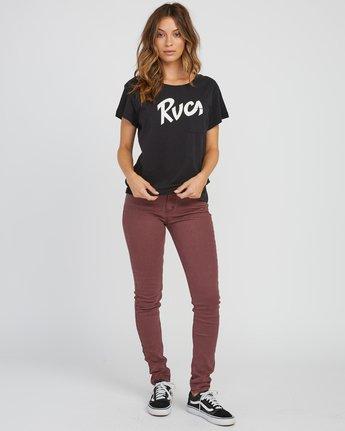 2 Marina Pocket T-Shirt Black W404SRMA RVCA