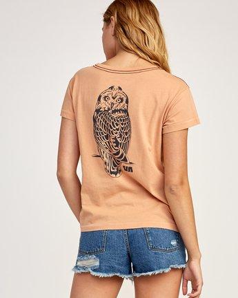 0 Heritage ANP T-Shirt Beige W404TRHE RVCA