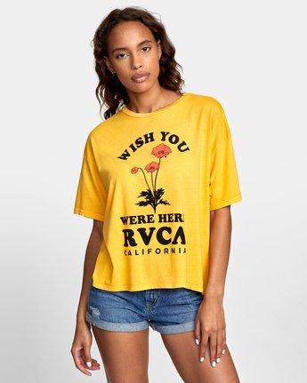 0 WISH YOU Yellow W4071RWR RVCA