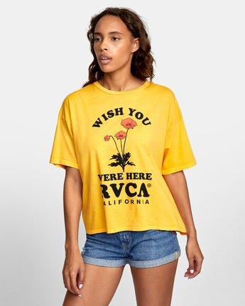 2 WISH YOU Yellow W4071RWR RVCA